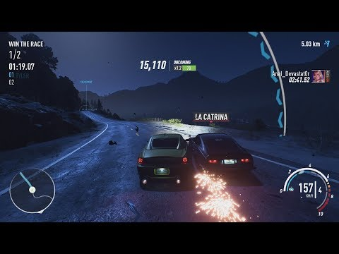 NFS Payback - Boss Race Vs La Catrina And Finding All Ford Mustang Derelict Part Locations