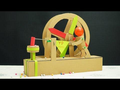 4 Amazing Cardboard Toys You Can DIY