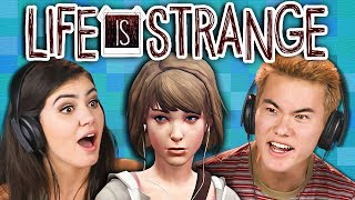 TEENS PLAY LIFE IS STRANGE - Part 1 (React: Gaming)