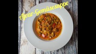 PurzelPfund's KochArena. #1 Ajvar-Gemüsesuppe
