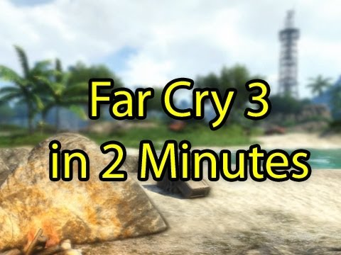 Far Cry 3 Review in 2 Minutes (Game Review by Wowcrendor)