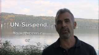 How to Un-suspend New York Driver