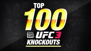 EA SPORTS UFC 3 | TOP 100 KNOCKOUTS - Community KO Video ep. 9