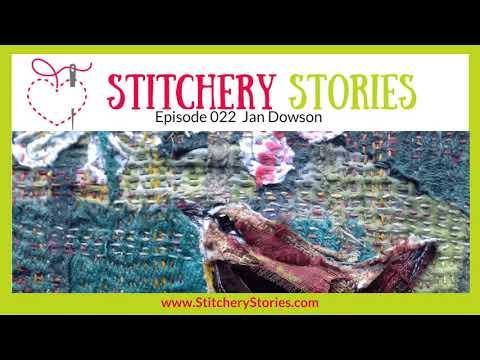 Jan Dowson: Award-Winning Textile Art Tutor & Textile Artist