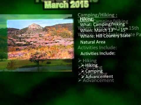 Portland Troop 20 2014/2015 Calendar of Events
