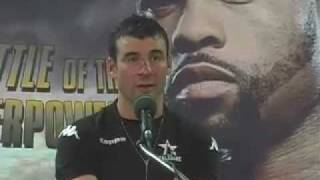 So Much to Talk About: Joe Calzaghe Post-Fight Presser (Nov. 2008)