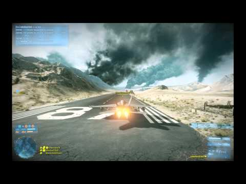 Battlefield 3: IzNoGooD343 in jet @ Operation Firestorm #5