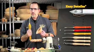 Easy Wood Tools Tip 3: Carbide Cutter Shapes