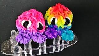 Rainbow Loom Friend on Monstertail with Loom Bands (резинок)