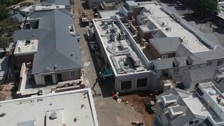 Caruso's Palisades Village Aerial Footage
