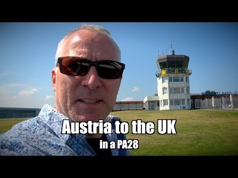 Austria to the UK in a PA28 - The Flying Reporter