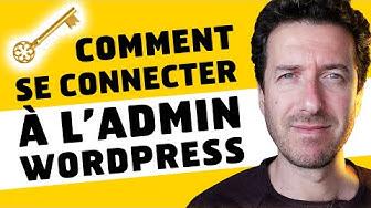 Comment se connecter à WordPress Admin [LOGIN]