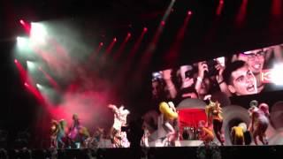 LADY GAGA - PAPARAZZI LIVE ( ISTANBUL ITU STADIUM CONCERT )