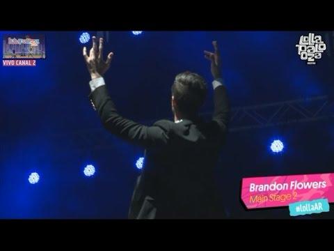 Brandon Flowers - Lollapalooza Argentina 2016 (full set)