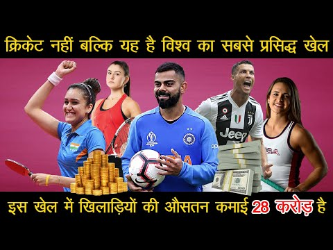 Top 10 Popular Sports of the world Most Popular Sports in 2020[in Hindi] Richest Sports of the world