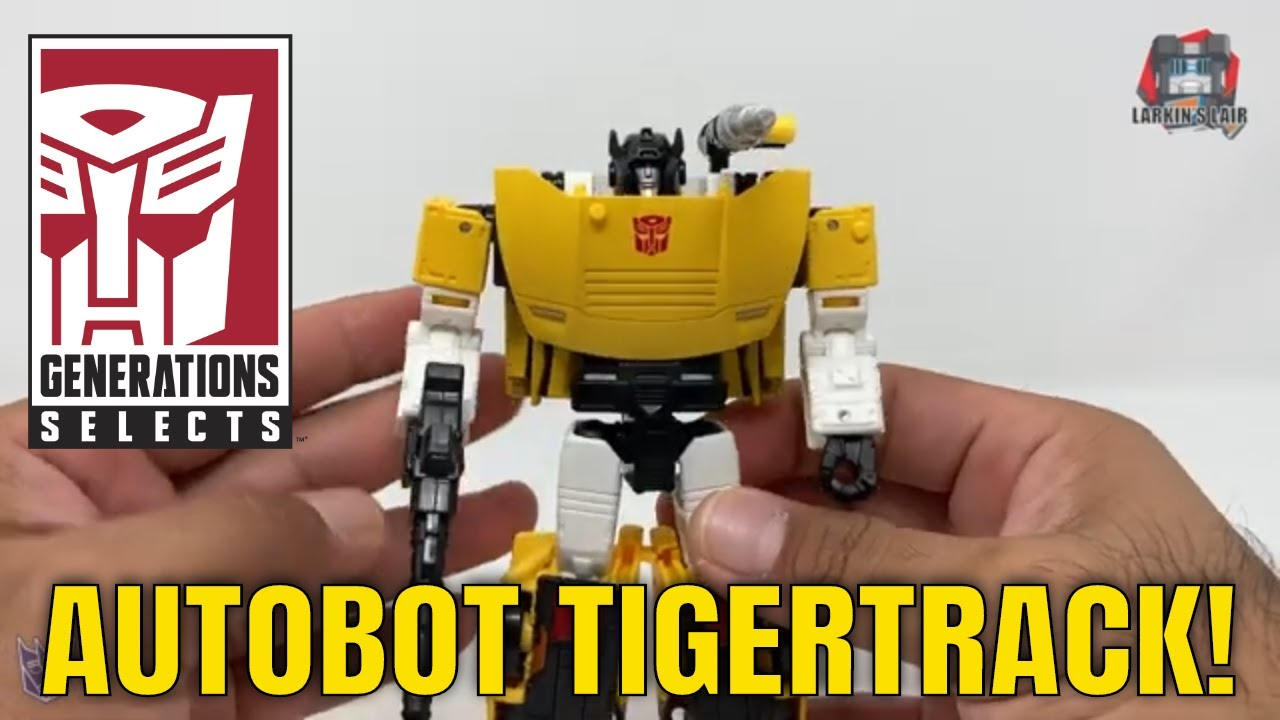 Transformers Generations Selects Tigertrack WFC-GS18 Review by Larkin's Lair