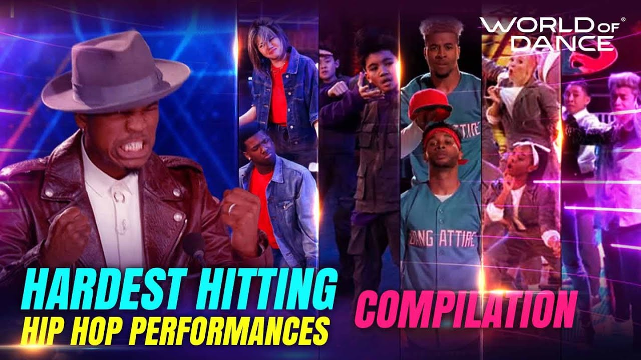 Hardest Hitting Hip Hop Performances on WOD | Compilation