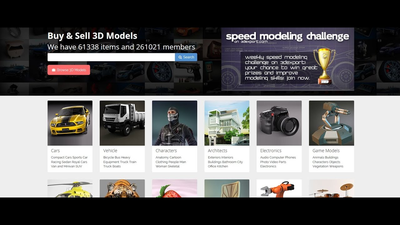 How to Prepare and Sell your 3D Models