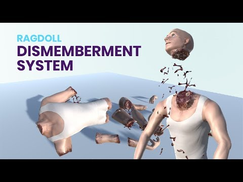 Ragdoll dismemberment system - Animus
