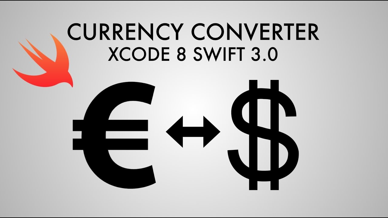 How To Make A Currency Converter In Xcode 8 Swift 30 Part 1