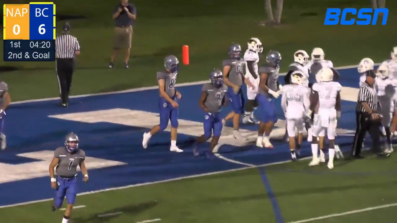 Barron Collier vs  Naples High School Football - BCSN