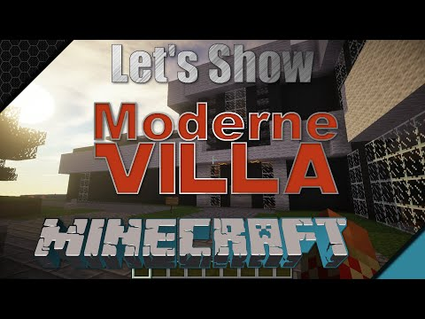 Full download minecraft modernes haus 4 bauen 001 hd for Craftingpat modernes redstone haus