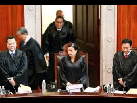 KUDOS! List of Supreme Court Justices who voted in favor of Martial Law in Mindanao