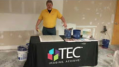 Tec Training on Thinset and Grout