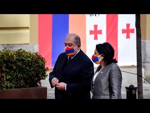 Переговоры провели президенты Грузии и Армении