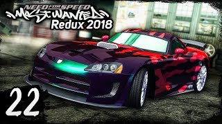 NFS Most Wanted REDUX 2018 | Walkthrough Part 22 - VIPER BRUTALITY [1440p60]