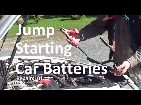 How To Jump Start Car Batteries - Easy To Follow Step By Step Guide