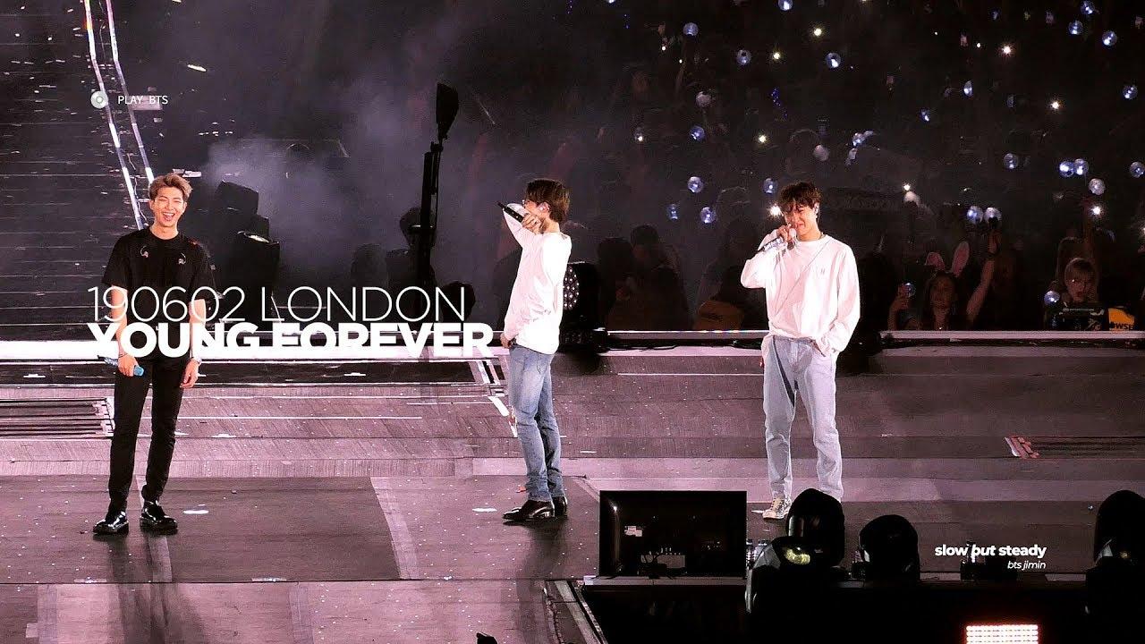 190602 방탄소년단 지민 (BTS JIMIN) - Young Forever + Ment (JIMIN FOCUS 4K fancam)