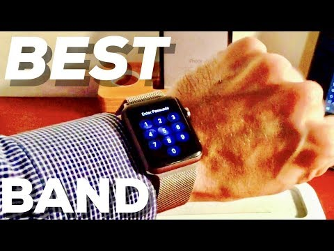 best-apple-watch-band!!-milanese-loop-review-(black-42mm-apple-watch)