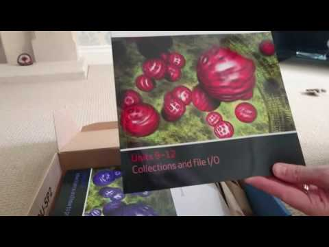 Open University M250 Object-oriented Java Programming unboxing of materials