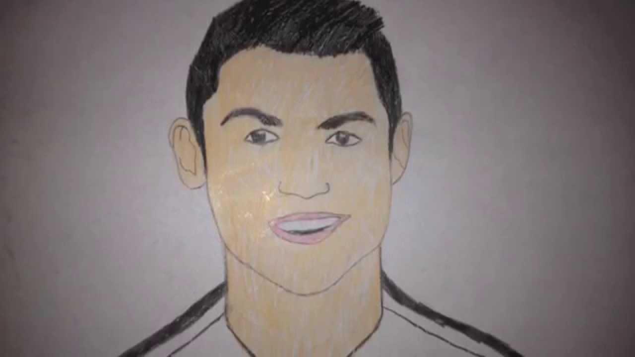 How To Draw Cristiano Ronaldo Youtube