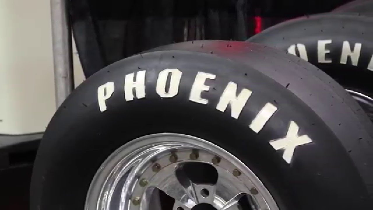 PRI 2015 - Phoenix Drag Slicks, Radials, and DOT Front Runner Tires