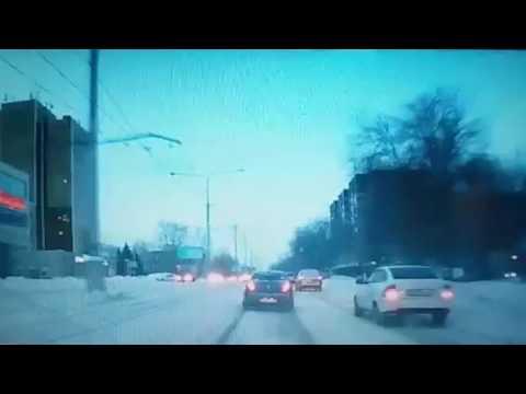 ДТП с трамваем в Усть-Каменогорске