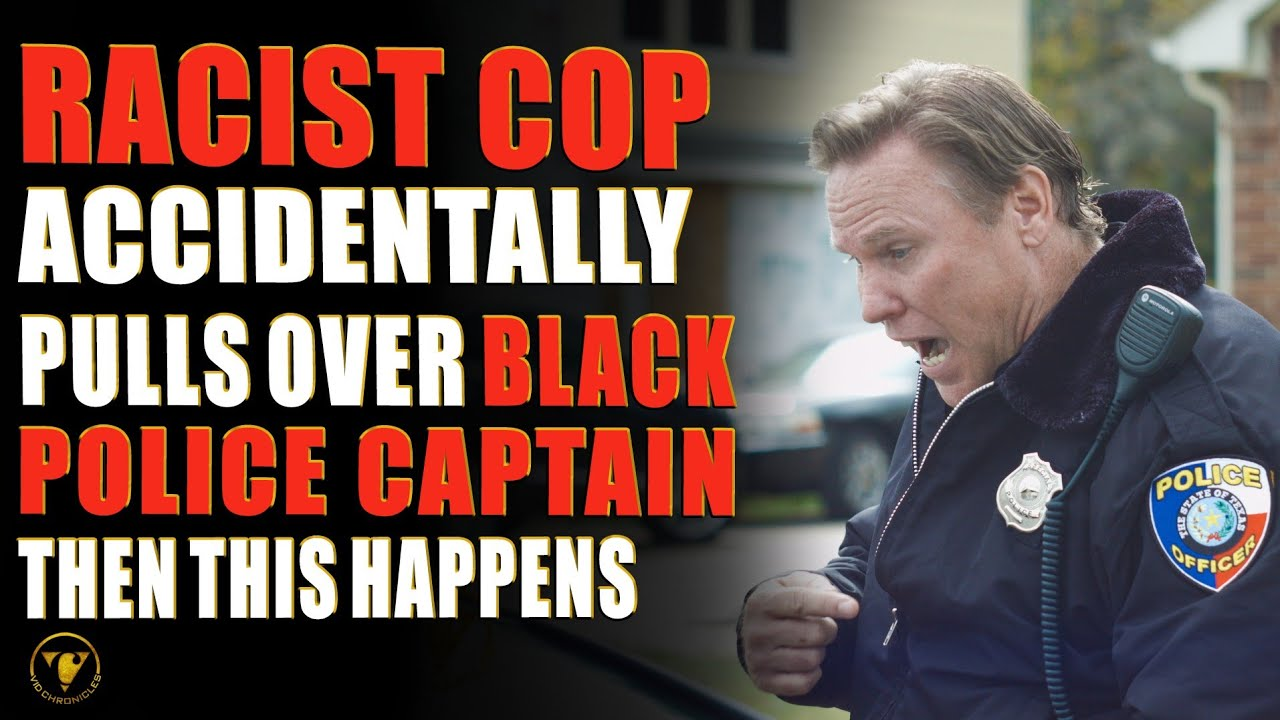 Download Racist Cop Accidentally Pulls Over Black Police Captain, Then This Happens.