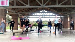 10 Minute HIIT Cardio Workout: Tabata-Style (Dance Fitness with Jessica)