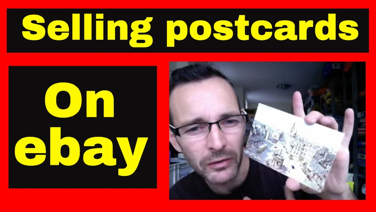 Selling postcards on ebay - Making money on ebay - Selling vintage postcards