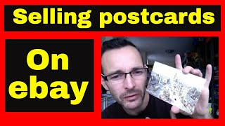 Making money on ebay - Selling vintage postcards