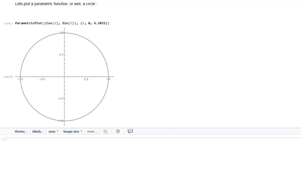 How to plot a circle in mathematica plotting parametric equations how to plot a circle in mathematica plotting parametric equations in mathematica ccuart Gallery