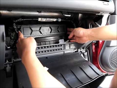 2003 Honda Accord cabin air filter replacement