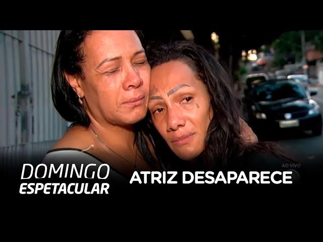 Atriz que sofre depressão desaparece de casa e preocupa família