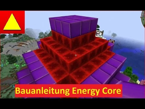 Energy Core Draconic Evolution in Minecraft Block Light Bauanleitung Tutorial