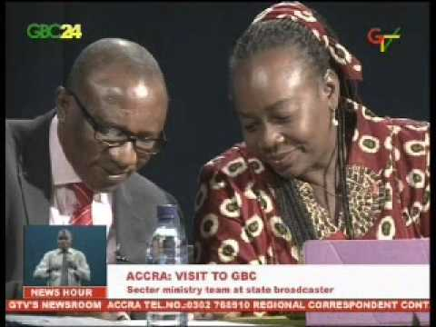 Deputy Minister for Communications visits the Ghana Broadcasting Corporation