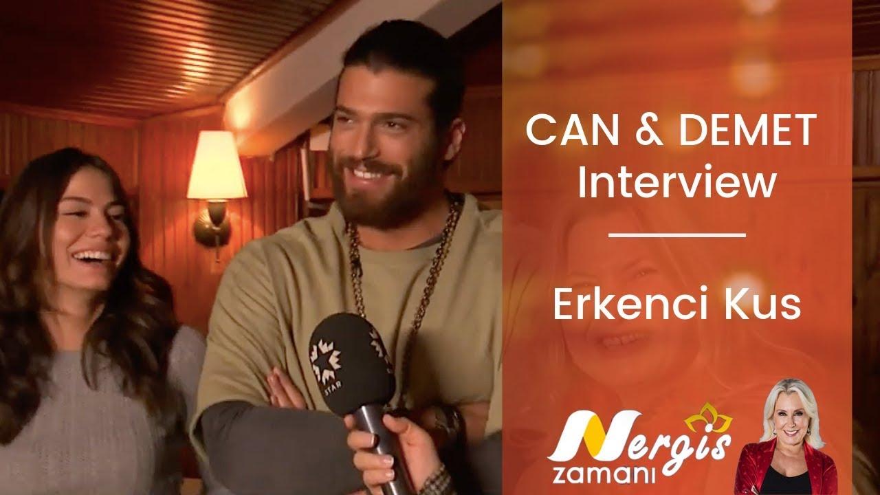 Can Yaman & Demet Ozdemir ❖ Interview ❖ Erkenci Kus ❖ Nergis Zamani Show ❖  English ❖ 2019