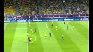Andy Carroll's Goal vs Sweden