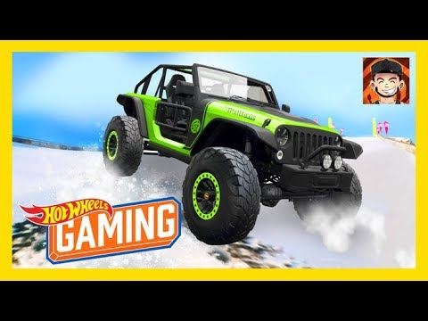 OFF-ROADING IN THE SNOW WITH ITSMATRIX On Horizon 3! | Suped Up Sunday | Hot Wheels Gaming