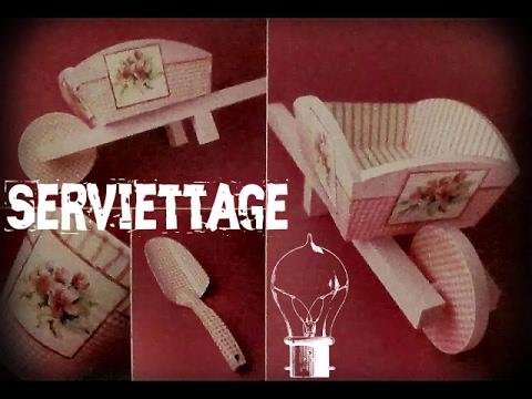 35 cr ations originales de collage de serviettes youtube. Black Bedroom Furniture Sets. Home Design Ideas